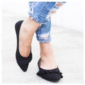 Shoes - New Arrival- Vegan Suede Flats